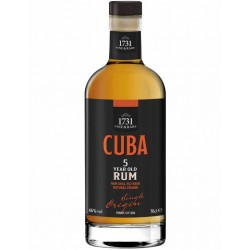 CUBA 5 Years Rum 46% 70 cl.